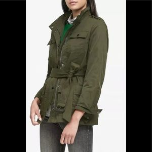 NEW Banana Republic Green Belted Utility JacketS